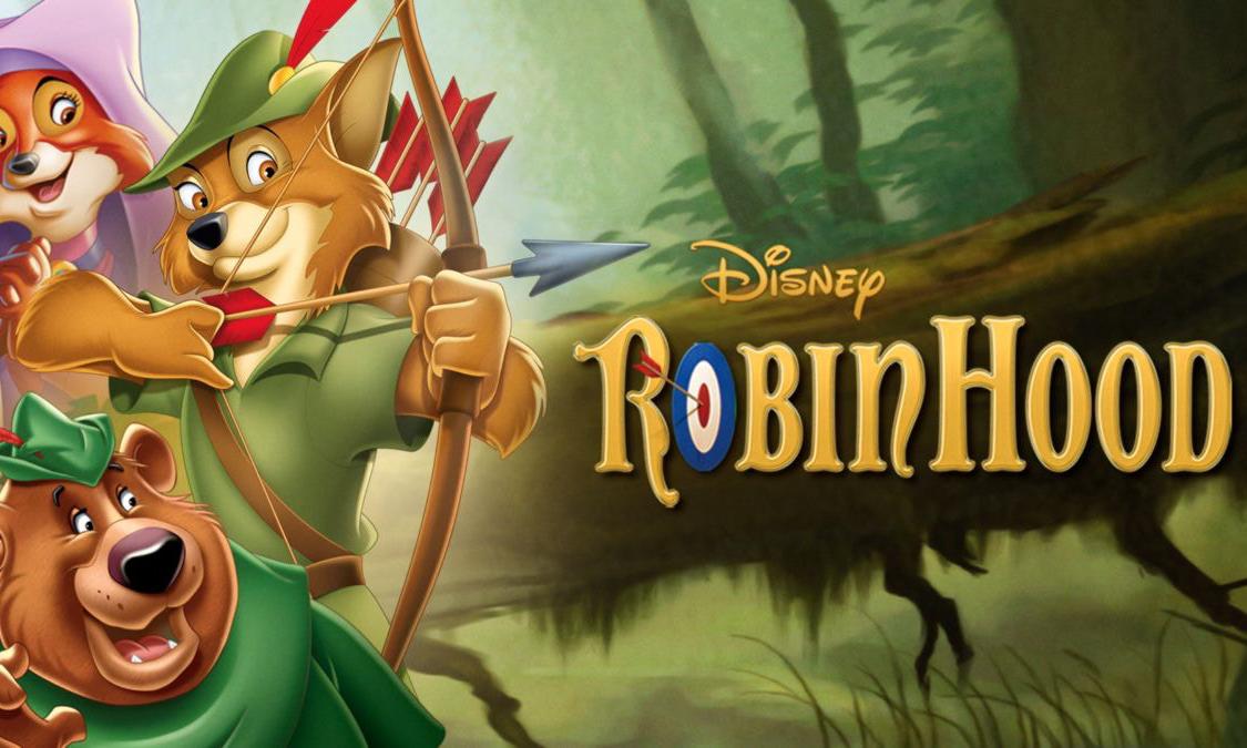 迪士尼 1973 年动画电影《罗宾汉》将拍摄真人版
