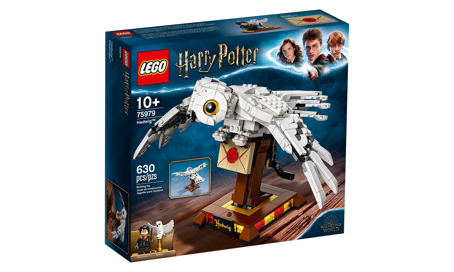 「名场面」收录,LEGO《哈利·波特》多套盒组公开