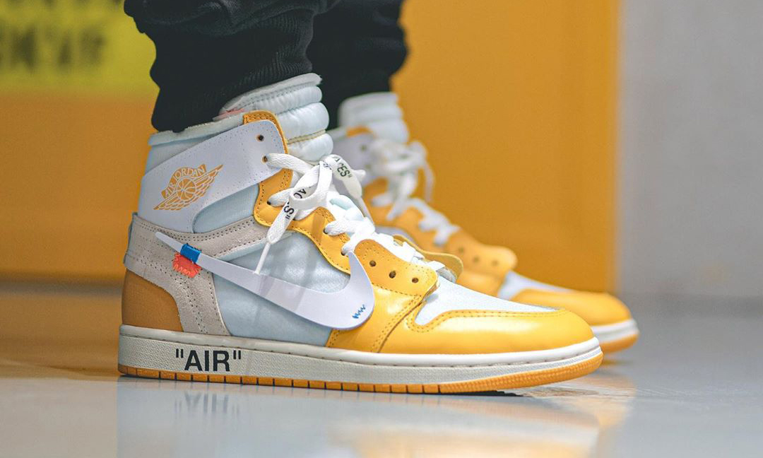 指日可待?Off-White™ x Air Jordan I「Canary Yellow」上脚预览