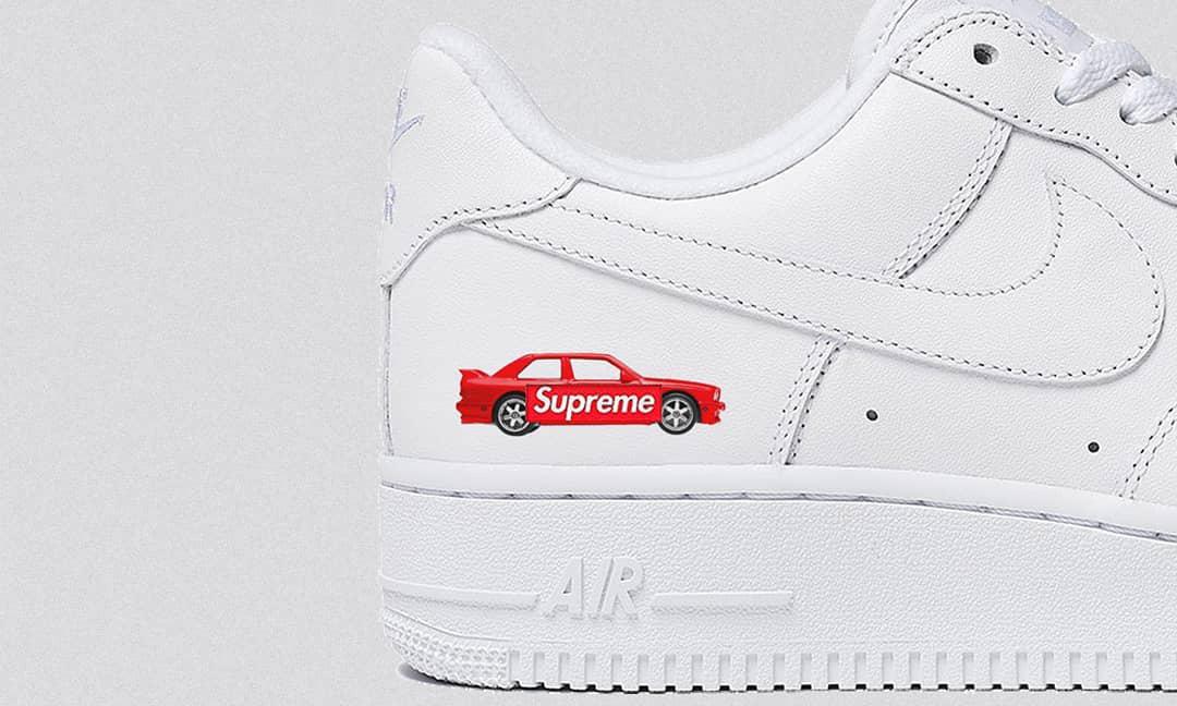 Supreme x Nike Air Force 1 原来有这么多玩法