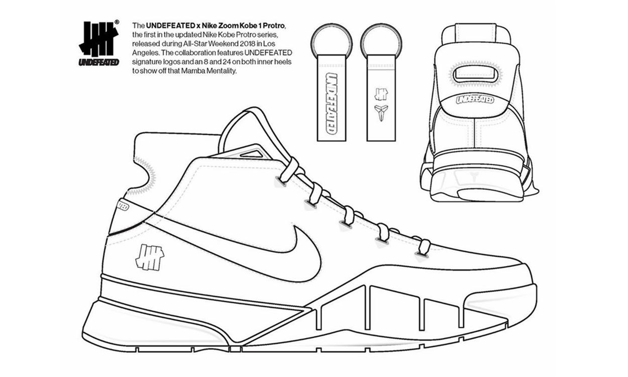 「自定义」UNDEFEATED x Nike Zoom Kobe 1 Protro 设计的机会来了