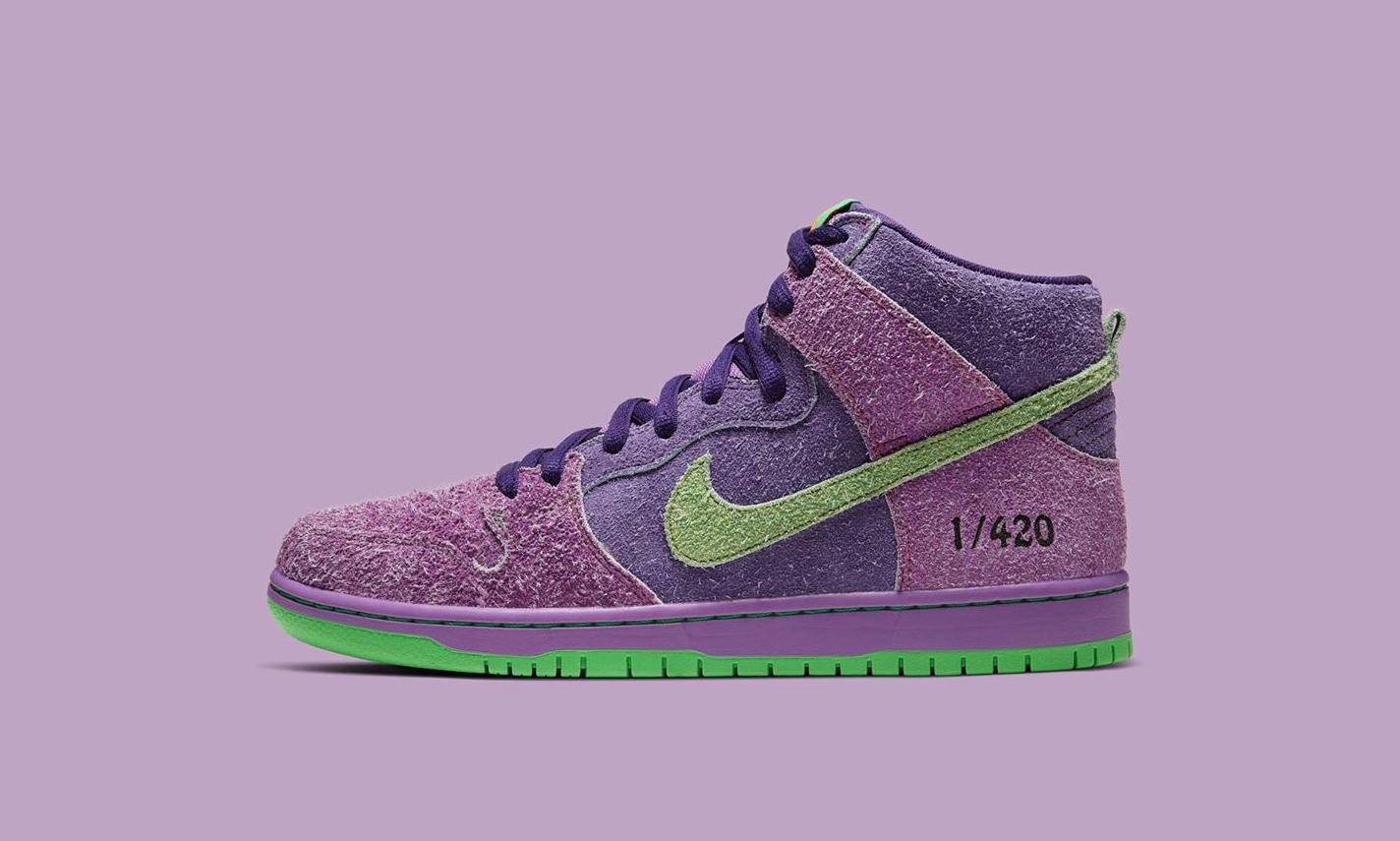 Nike SB Dunk High PRO QS「420」本月发售