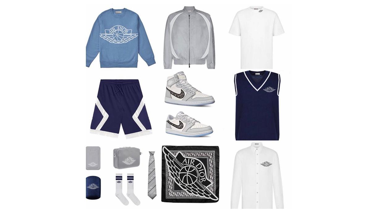 Dior x Jordan Brand 完整合作系列抢先预览