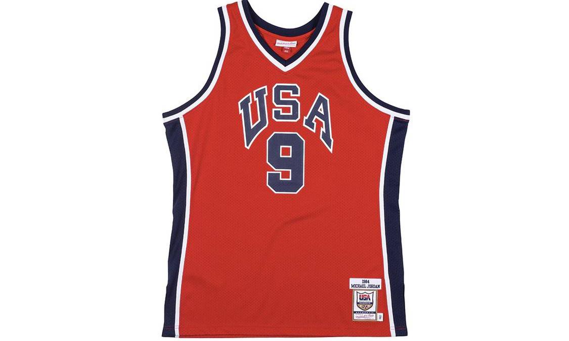 Mitchell & Ness 推出 Michael Jordan 1984 年美国奥运会球衣