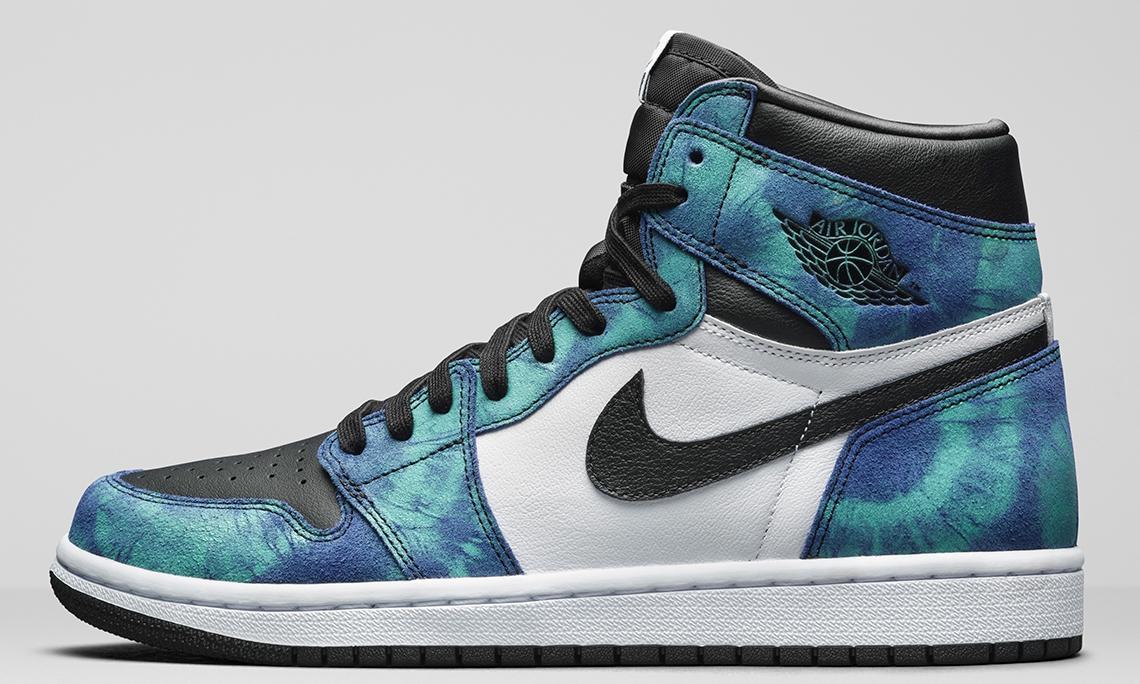 「扎染」加身,Air Jordan I「Tie Dye」新设计公开