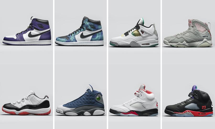 你的选择是?Jordan Brand 2020 夏季发售鞋款预览