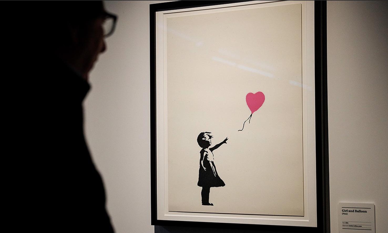 苏富比《Banksy|Online》拍卖会共拍得 140 万美元