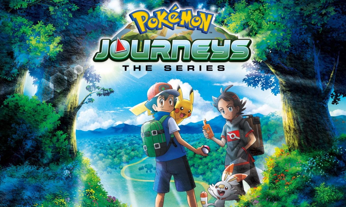 最新《Pokémon Journeys: The Series》系列即将登陆 Netflix