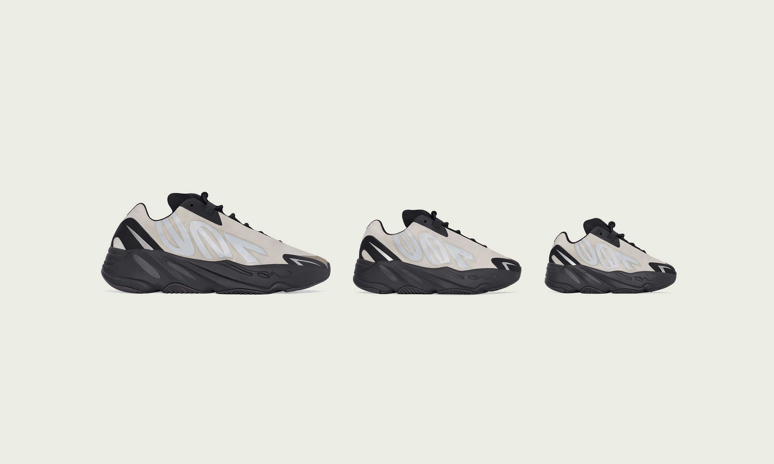 YEEZY BOOST 700 MNVN BONE 鞋款即将发售