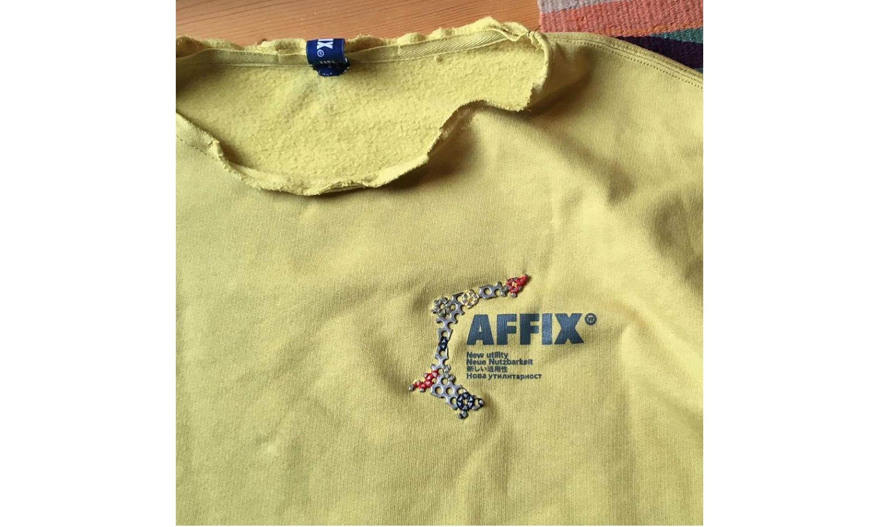 AFFIX 展示 Dean Edmonds 合作改造单品