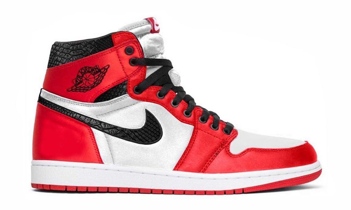 奢华闪耀,Air Jordan I「Satin Snake」将于今年登场