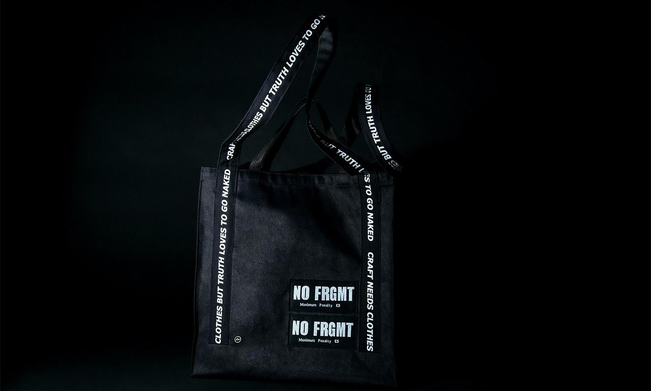 AKA SIX x fragment design 「NO FRGMT」朋克手提袋正式登场