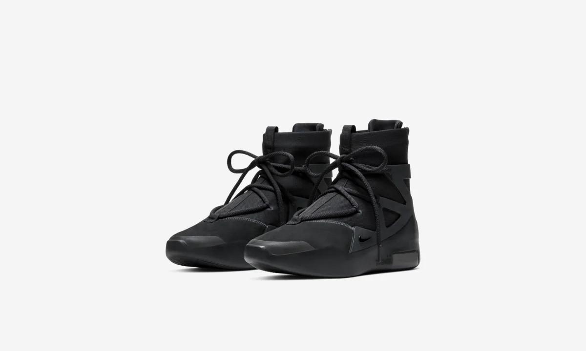 Nike Air Fear of God 1「Triple Black」上架中国区 SNKRS