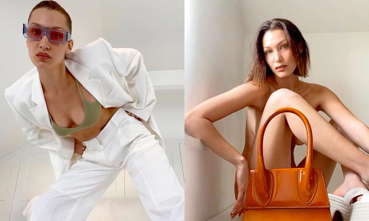Bella Hadid 出镜,Jacquemus 释出使用 FaceTime 拍摄的最新广告大片