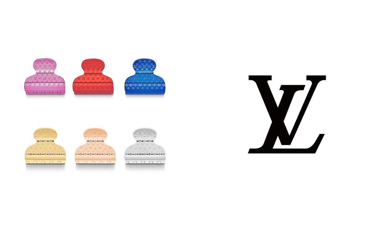 奢华感配饰,Louis Vuitton 推出新款 Monogram 发夹