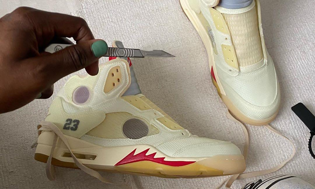 假日季期待,Off-White™ x Air Jordan V 发售计划敲定