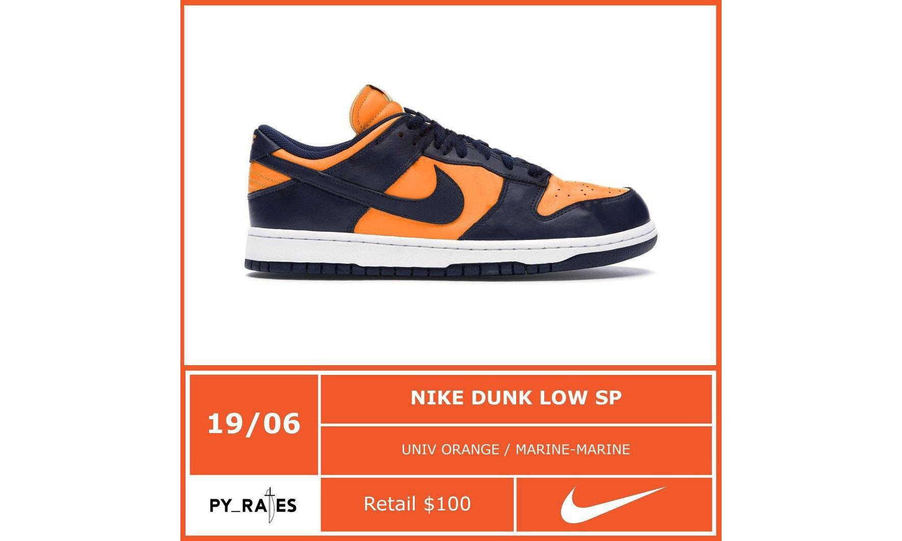 新配色 Nike Dunk Low SP 将于 6 月 19 日发售