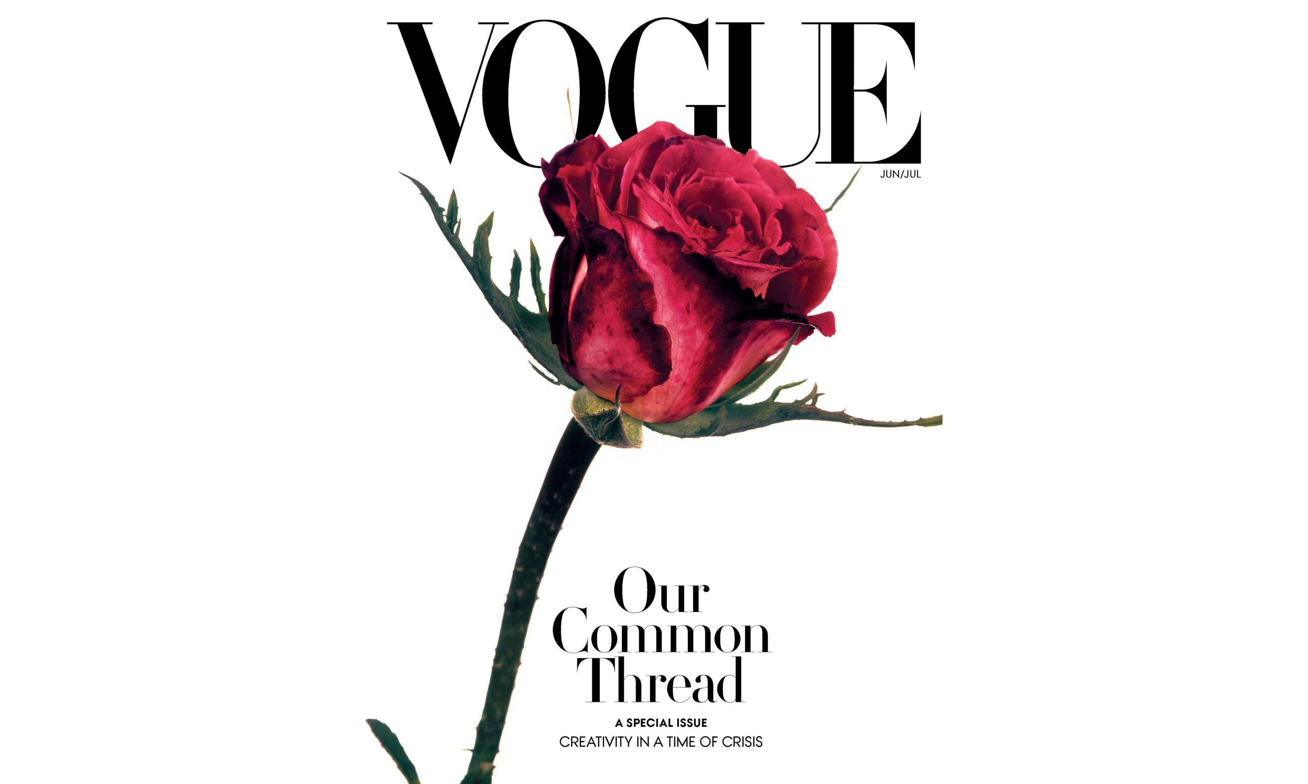 美版《VOGUE》合并发布 6 月与 7 月刊