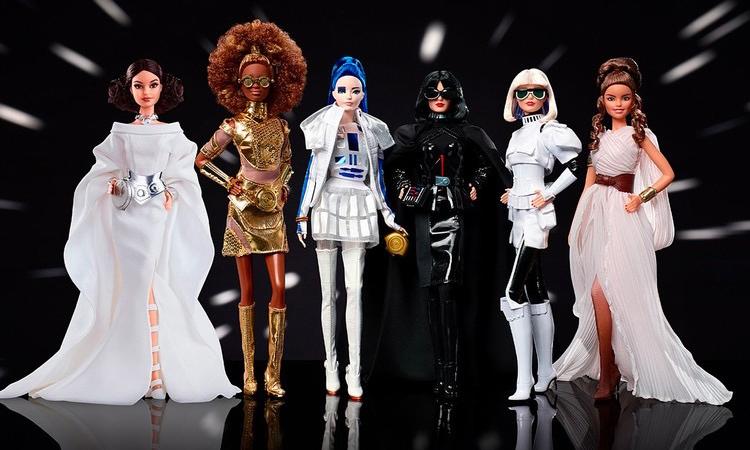 「角色扮演」,《星球大战》版芭比娃娃即将登场