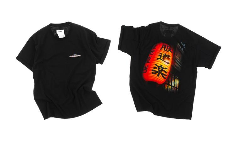 上野风格,doublet x NUBIAN 联乘 T恤系列即将发售