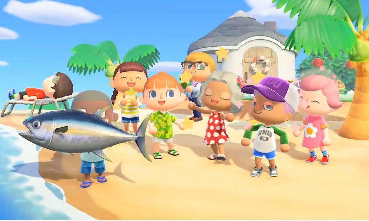 《集合啦!动物森友会》成为 Switch 史上最速畅销游戏
