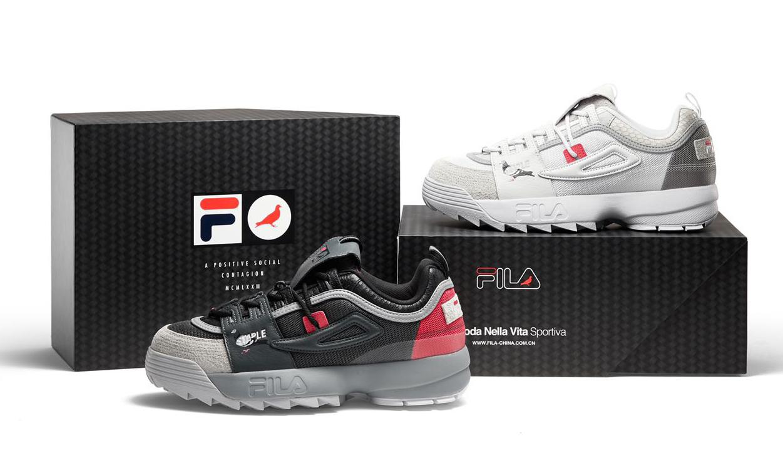 越「野」越有型,FILA FUSION 再度联手 STAPLE 打造联名 DISRUPTOR GLIDE 鞋款