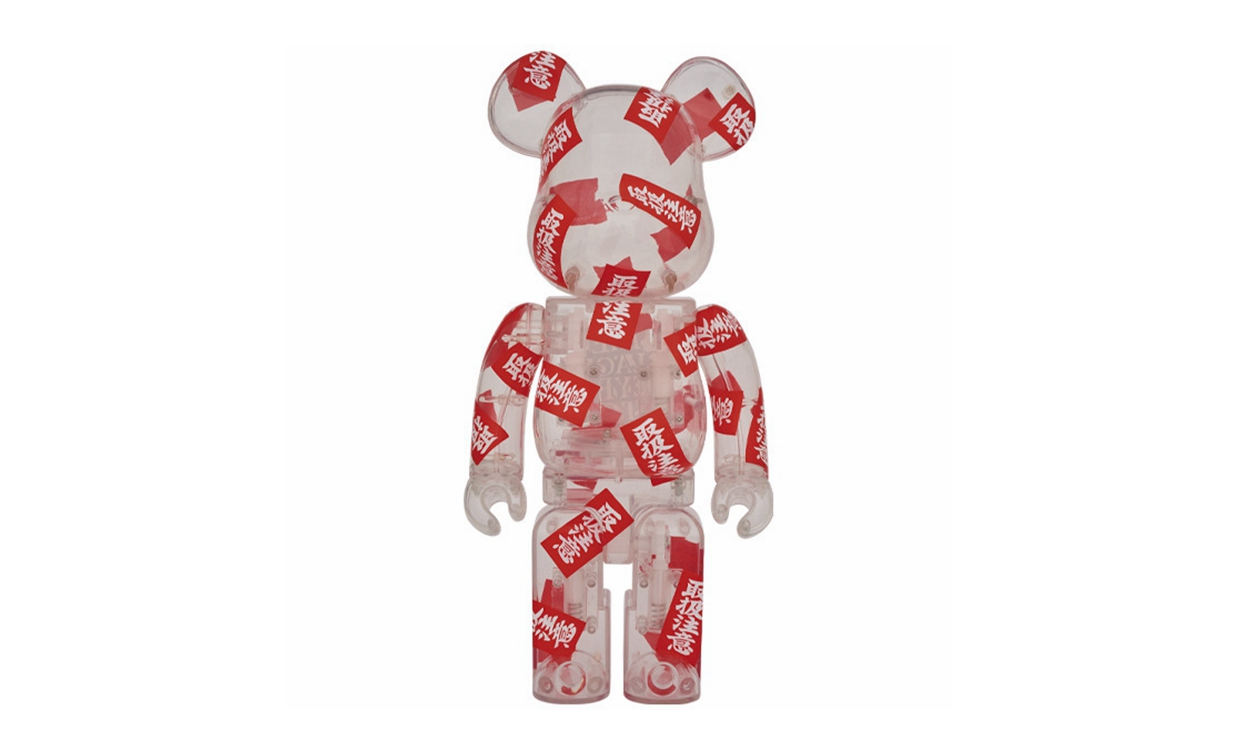 BlackEyePatch x MEDICOM TOY 全新合作 BE@RBRICK 玩偶即将上架