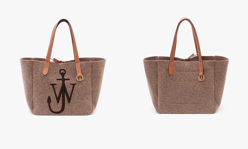 经典又实用,JW Anderson 推出四色新款 Tote Bag
