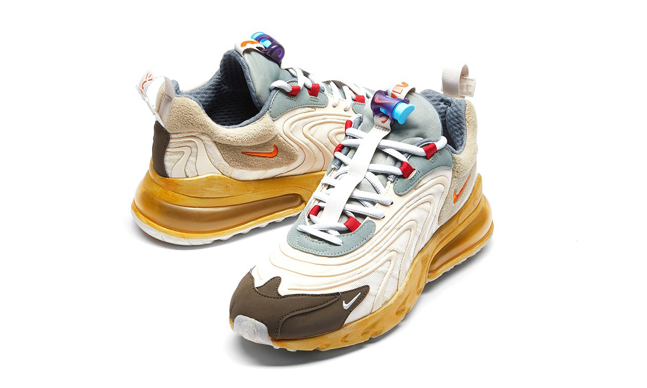 Travis Scott x Nike Air Max 270 React 发售日期正式官宣