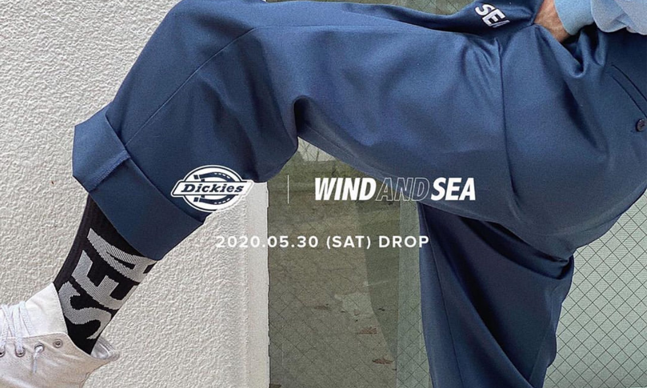 Dickies x WIND AND SEA 合作系列公开
