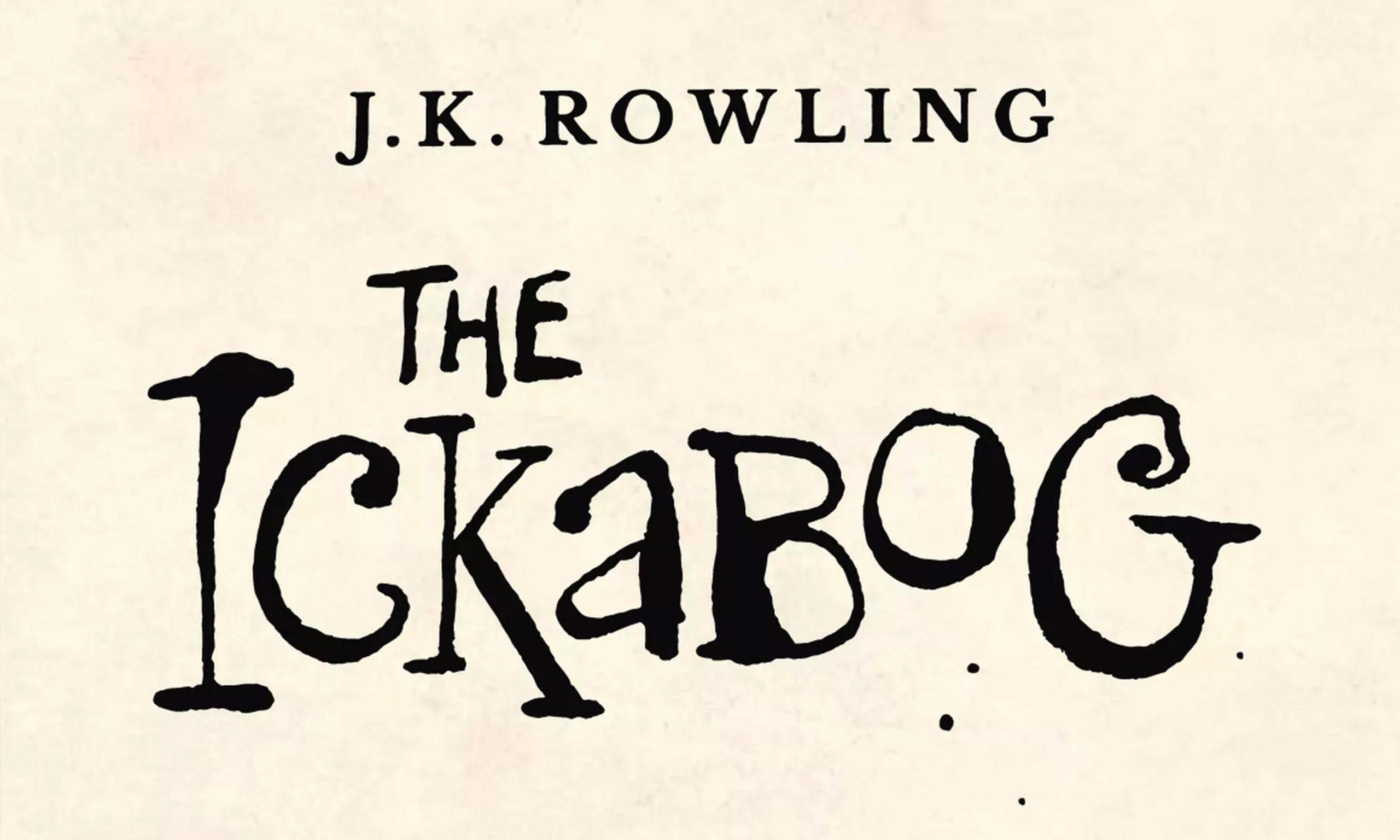 J.K. 罗琳将出新书《The Ickabog》