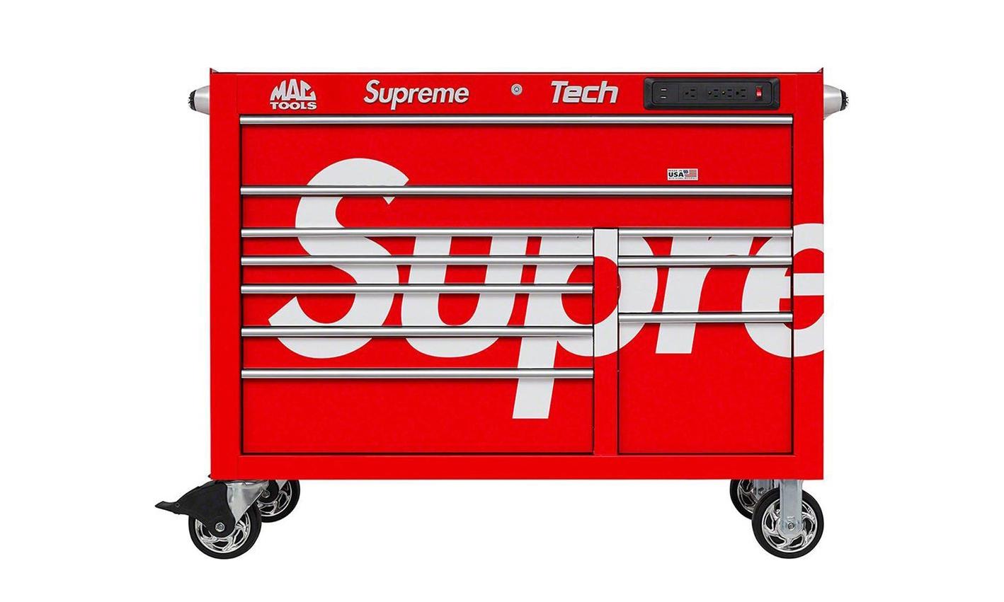 「专业」大件登场,Supreme x Mac Tools T5025P 工作站本周发售