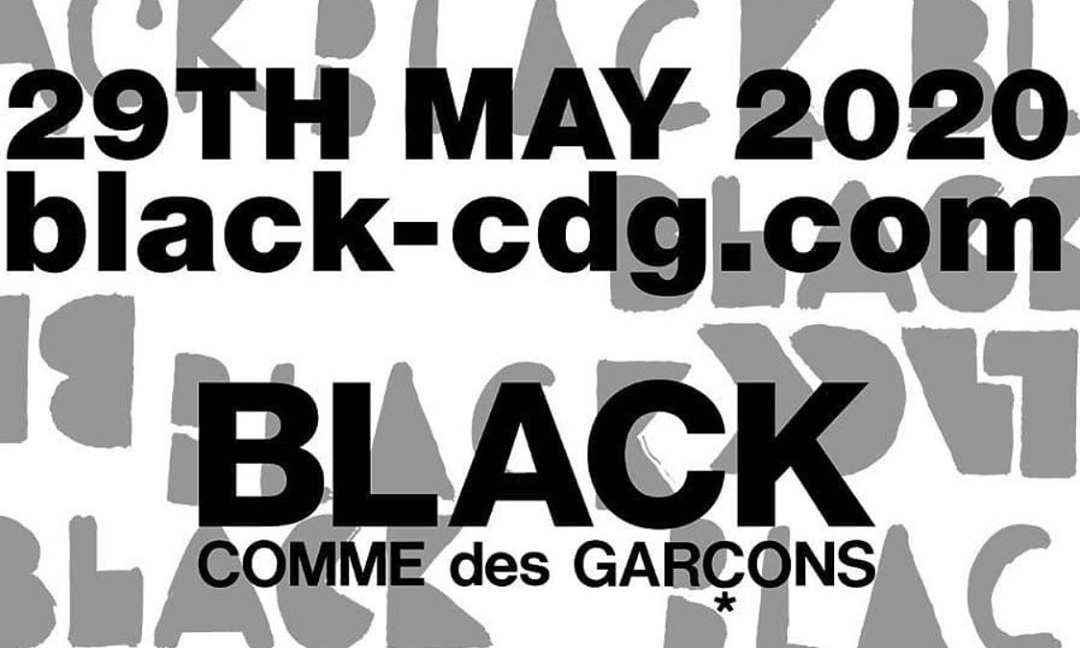 BLACK COMME des GARÇONS 将开设独立线上商店