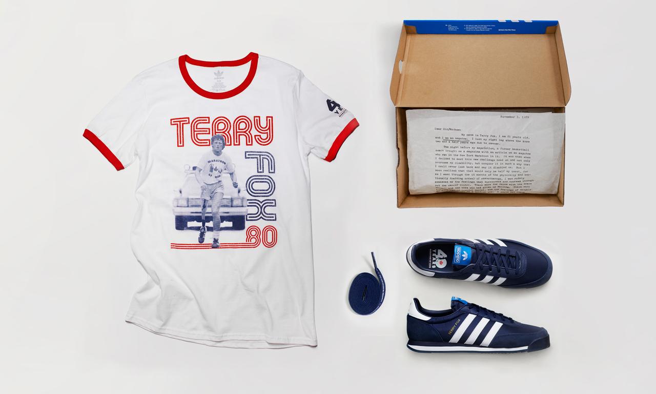 庆 Marathon of Hope 成立 40 周年,adidas Originals 发布全新 Terry Fox 系列