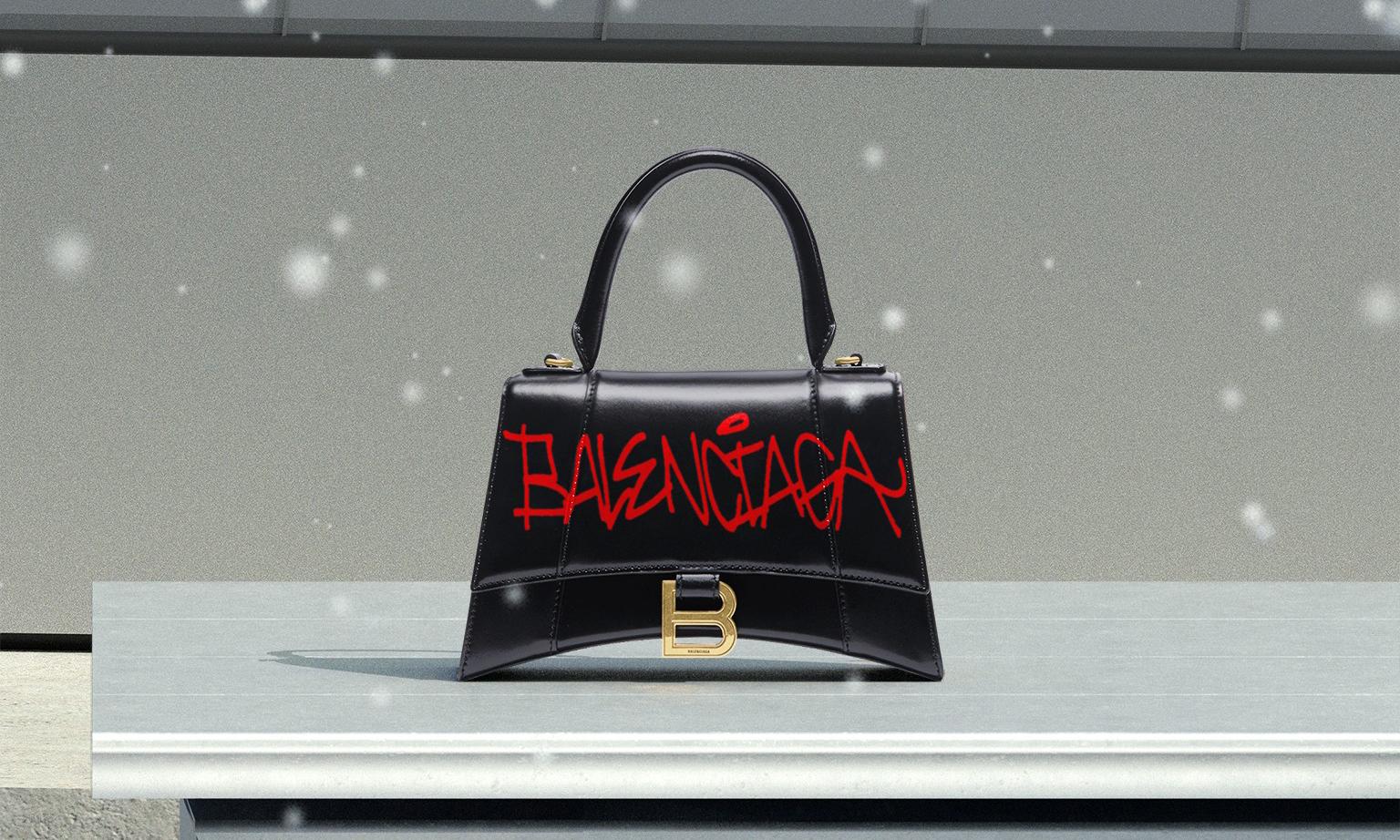 Balenciaga 即将为中国消费者推出现场手袋定制服务