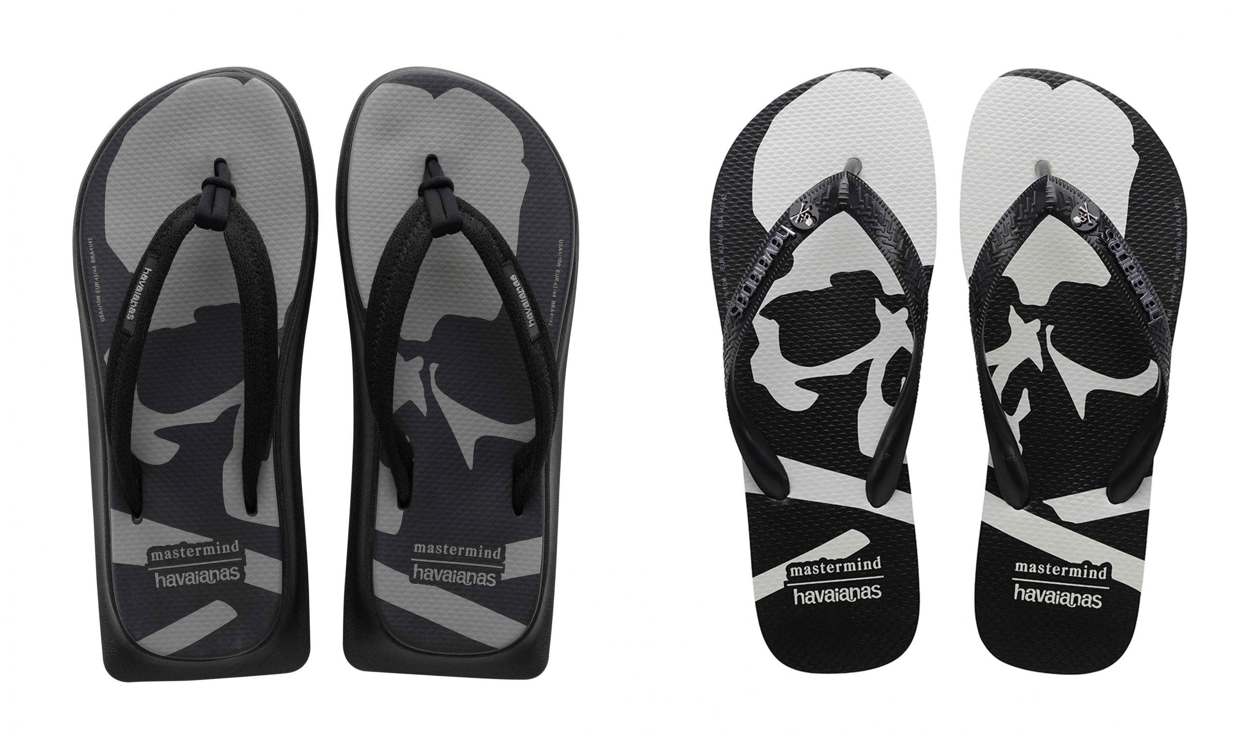 重塑夏日潮流风格,Havaianas x mastermind JAPAN 全新联名鞋款发布