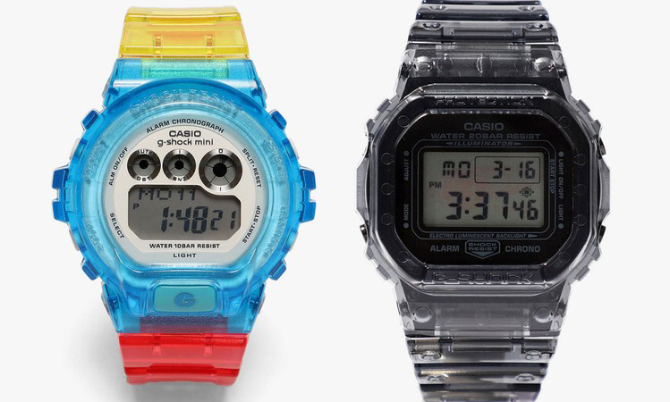BEAMS x G-SHOCK 2020 春夏半透明腕表系列再度来袭