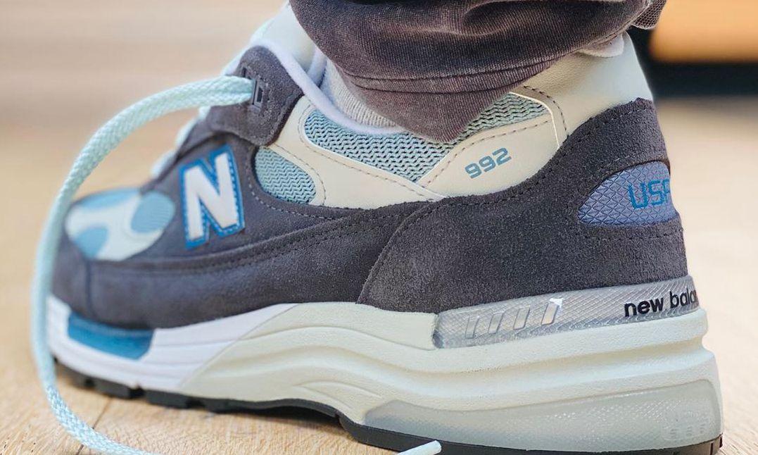 Ronnie Fieg 亲晒 New Balance 992 全新合作鞋款