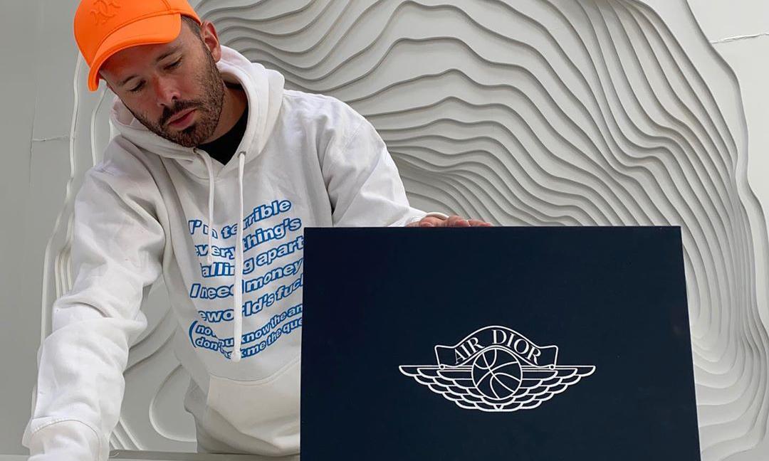 Daniel Arsham 视频开箱展示 Dior x Air Jordan I