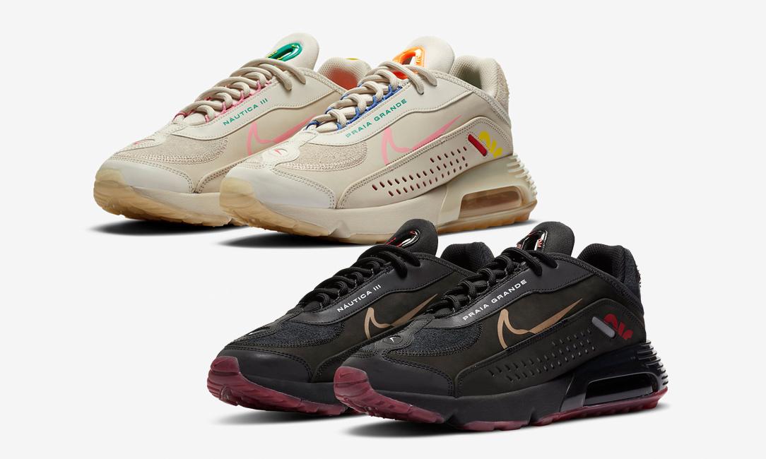 内马尔联手 Nike 推出两款 Air Max 2090 设计