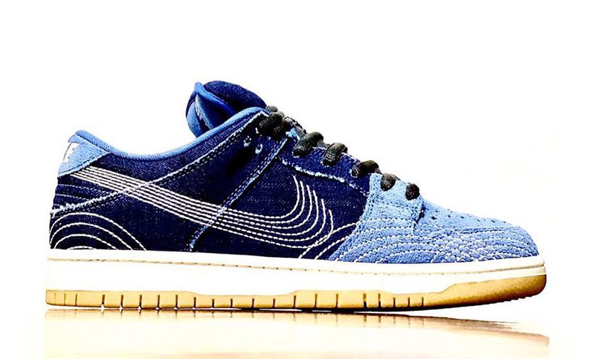 抢先预览丹宁材质 Nike SB Dunk Low 设计