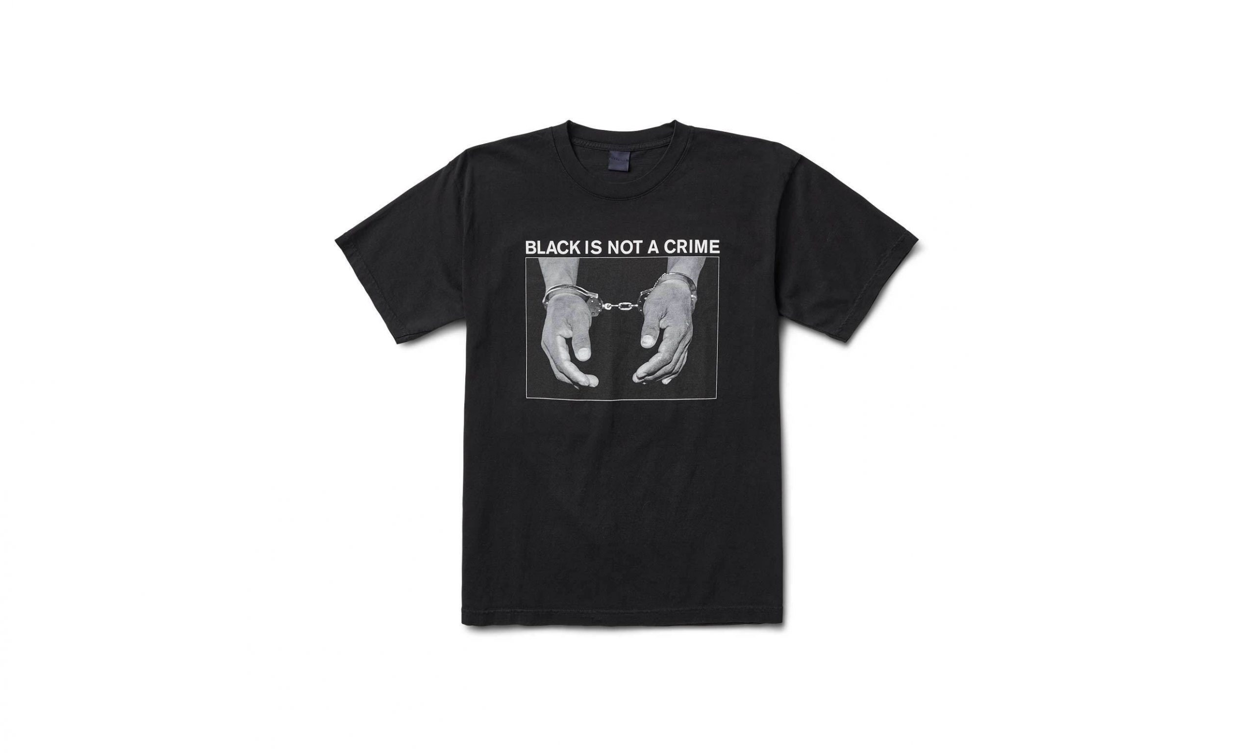 Freshjive 用新 T-Shirt 来向最近的黑人歧视案件表态