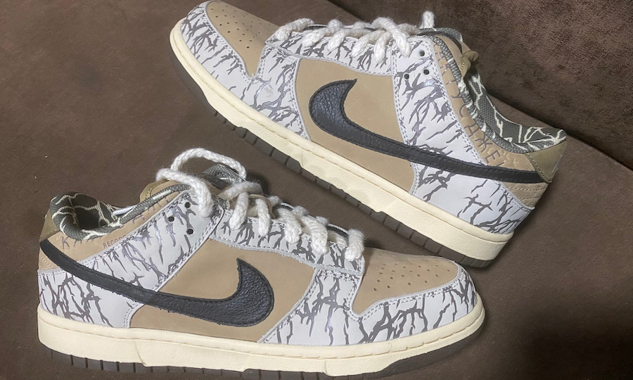只可远观?Travis Scott x Nike SB Dunk Low Sample 曝光
