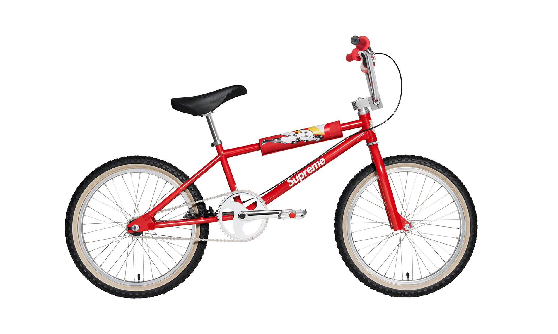 售价上万,Supreme x S&M™ 1995 BMX 单车将于本周登场