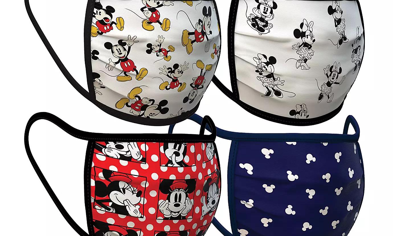 迪士尼推出《星球大战》,《米老鼠》和《漫威》系列等卡通口罩