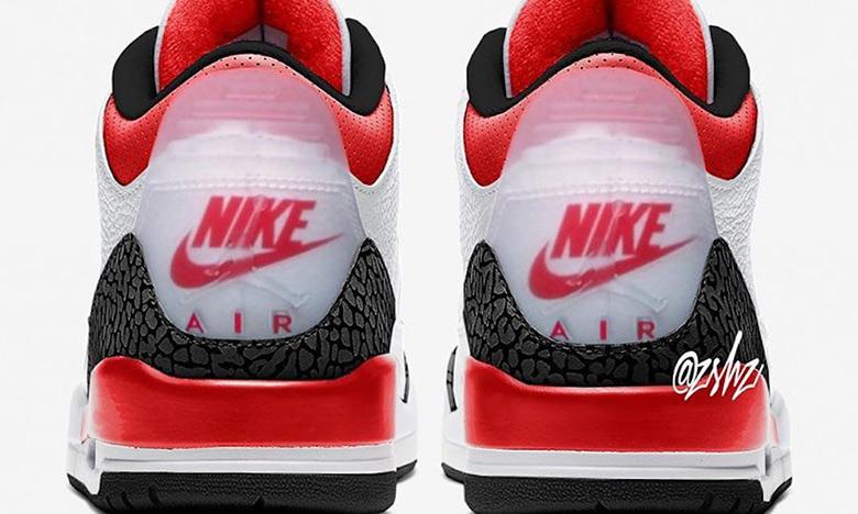 双 Logo 亮相,Air Jordan III「 Fire Red」即将释出