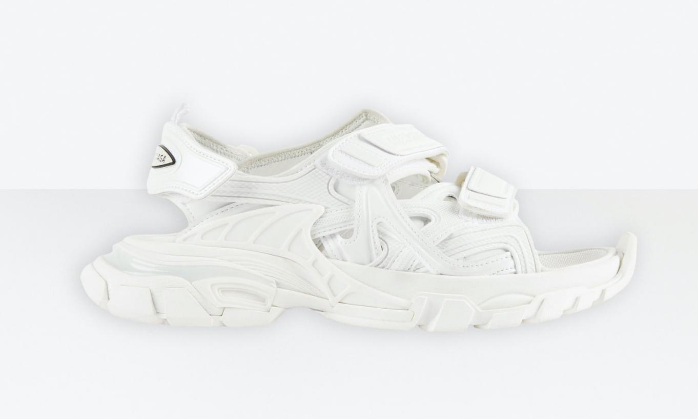 舒适清爽兼备,Balenciaga 推出 Track Sandal 凉鞋