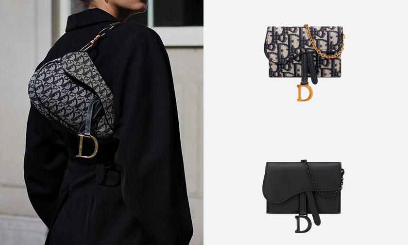 4 种背法,Dior 马鞍包推出迷你版本