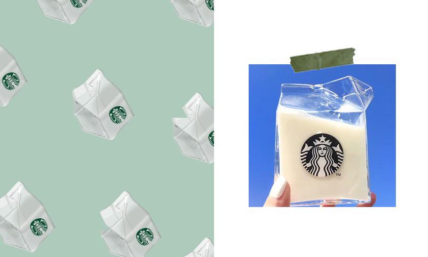 会是下一个爆款吗?Starbucks 再度发售「透明牛奶盒」