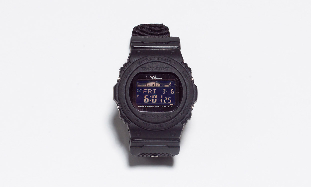 Ron Herman x G-Shock GWX-5700 联乘腕表即将发售